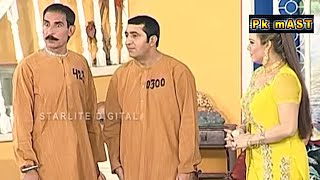 Best Of Zafri Khan and Iftekhar Thakur Stage Drama Full Comedy Clip