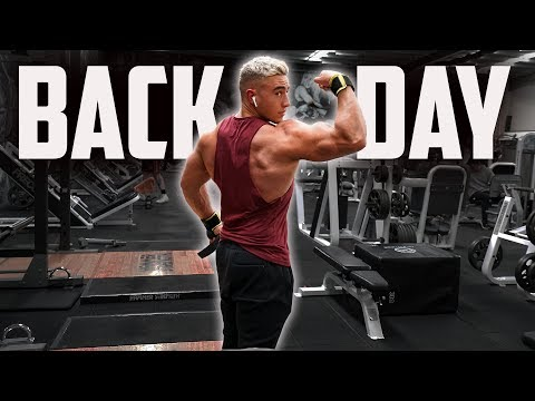 My Back Workout Explained | This Bulk is Getting Real... | Zac Perna