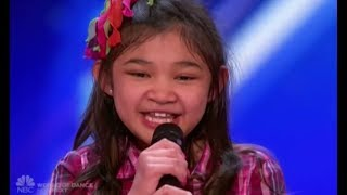 Angelica Hale: Future Star STUNS The Crowd OH. MY. GOD!!! | Auditions 2 | America's Got Talent 2017
