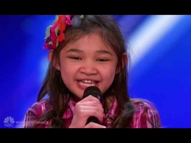 ¿Es esta niña de 9 años la futura Whitney Houston? Desde luego, voz tiene