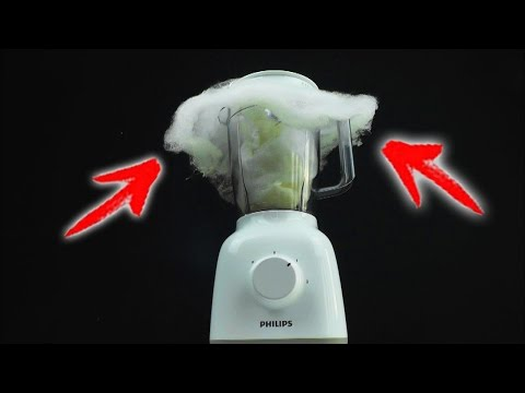 How to Make COTTON CANDY Using Blender At HOME