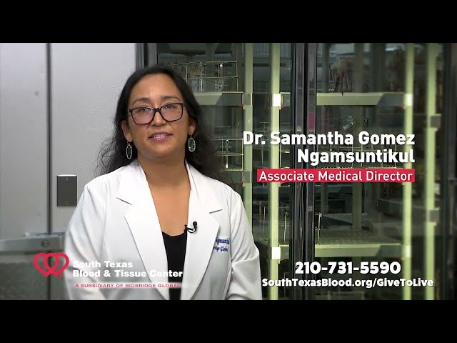 Give to Live Blood Drive - Dr. Gomez Ngamsuntikul