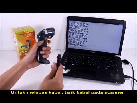 Unboxing MINIPOS MP-5500 Laser Barcode Scanner (Gold)