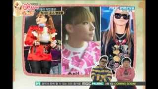 [ENG] 120128 Every1 Weekly Idol Chart Show - Luxury Force Branded-dol 5. CL