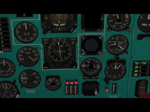 Tu154 Navigation manual