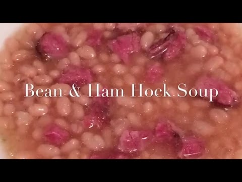 Bean & Ham Hock Soup (pressure Cooker)