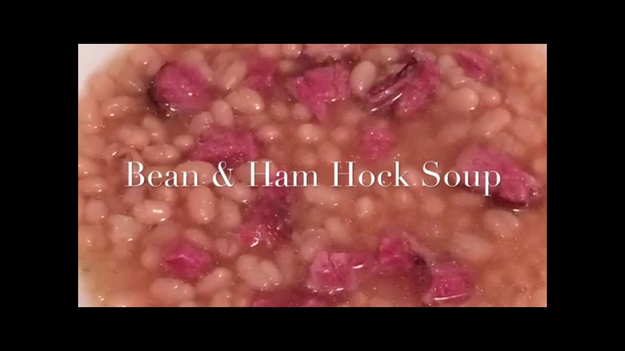 how to cook a ham hock for soup