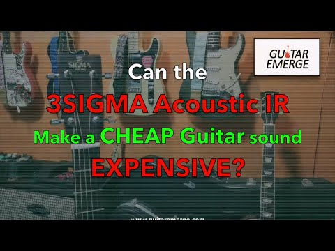 How to make a cheap guitar sound expensive?