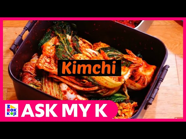 Ask My K : Lee Bambi - How to make Kimchi