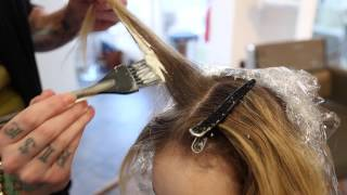 Step 9 - How To Balayage Retouch - 14 Steps To Becoming A Better Hair Colorist thumbnail