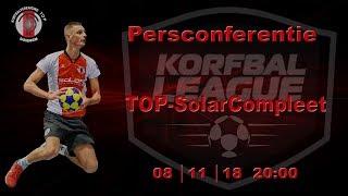 Persconferentie TOP/SolarCompleet, donderdag 8 november 2018