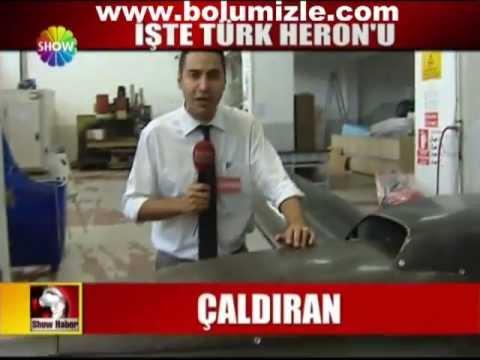 İlk Türk Taktik Sınıfı İnsansız Hava Aracı - Bayraktar Taktik İHA ShowTVHaber 16 Haziran 2010