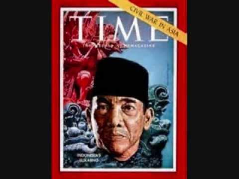 Soekarno/Sukarno Speaking Dutch (Rare)