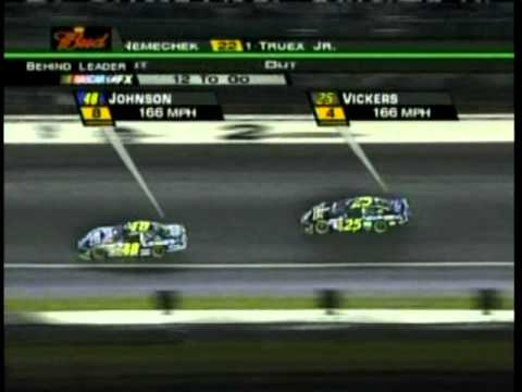 2005 NEXTEL All Star Race 1011 Finish