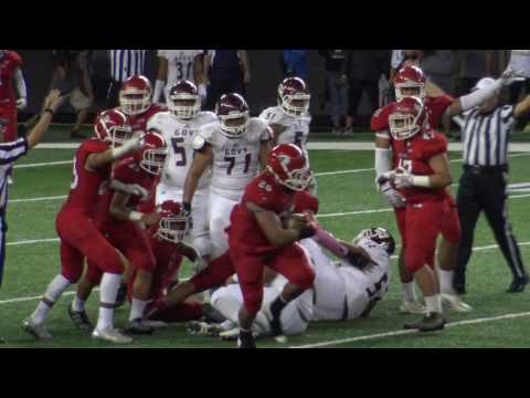 Kahuku vs Farrington OIA Football with horrific ending in 4K