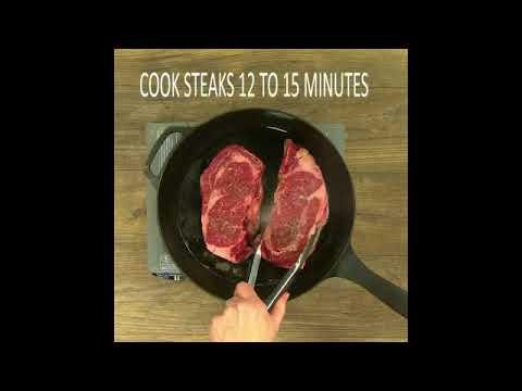 Beef Steaks With Sundried Tomato And Mushroom Sauce