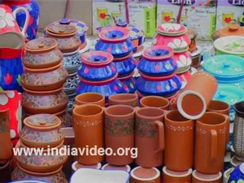Blue Pottery from Uttar Pradesh