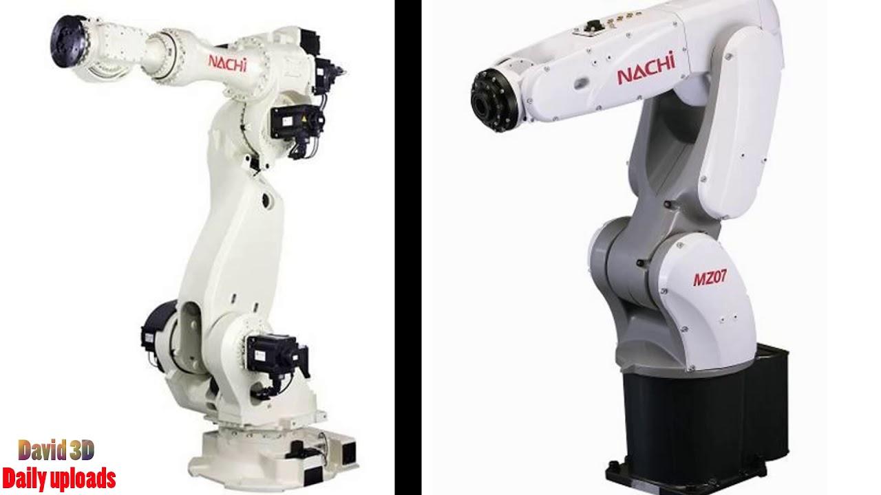 5025  Free download 3D models: Nachi Robotics - MC350 6-axis Industrial  Robot, 350Kg