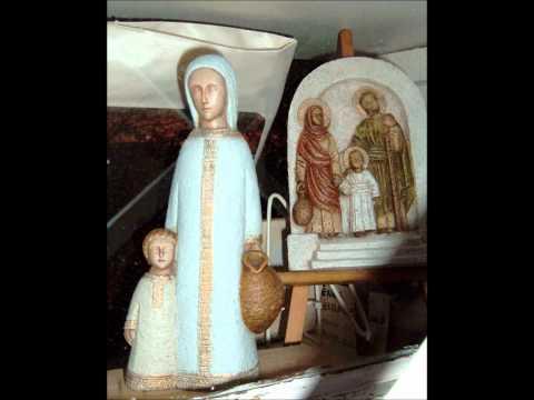 monastère de Bethléem -lac du Bourget -crêches- Noël Russe Vois l&39;étoilewmv