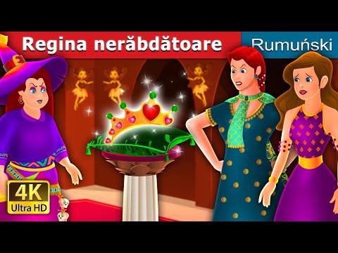 REGINA NERĂBDĂTOARE | The Impatient Queen Story | Romanian Fairy Tales from YouTube · Duration:  12 minutes 53 seconds
