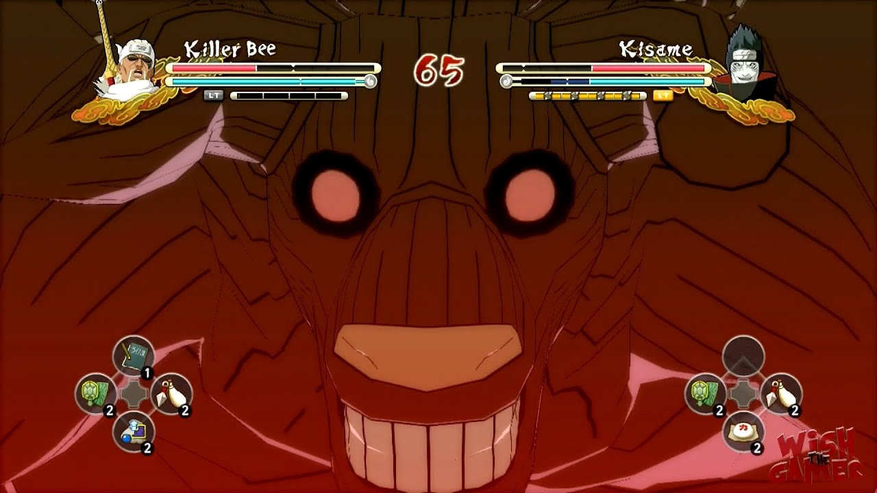 Naruto Ultimate Ninja Storm 3 Jinchūriki Fight - [8 Tails] Killer Bee  Awakening - YouTube