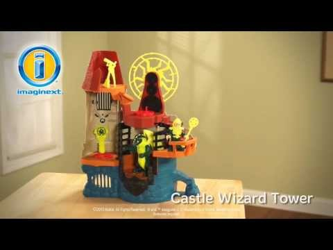 Fisher Price ,- Imaginext -  Castle Wizard Tower