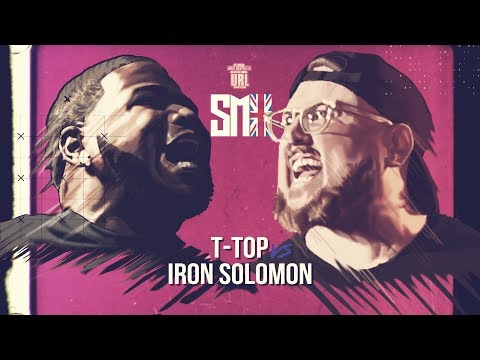 T-TOP VS IRON SOLOMON SMACK RAP BATTLE| URLTV