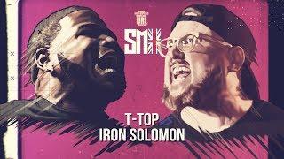 T-TOP VS IRON SOLOMON SMACK RAP BATTLE| URLTV