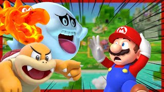 Top 10 DANGEROUS Mario Enemies!