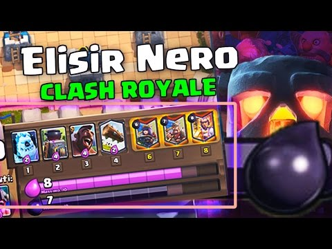 (LIVE) CREO L'ELISIR NERO SU CLASH ROYALE! Dark Elixir Clash Royale (LIVE) Edit!