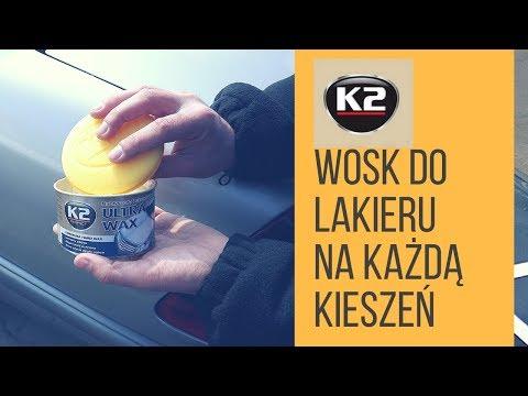 Woskowanie samochodu krok po kroku - K2 Ultra Wax, wosk ochronny z woskiem Carnauba