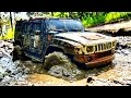 RC Extreme Pictures | RC Truck Mudding 4x4 VS 6x6 - Truck Trail Hummer H2 VS Beast RC4WD