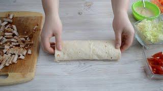 Шаурма в домашних условиях со свининой Самый вкусный рецепт шаурмы
