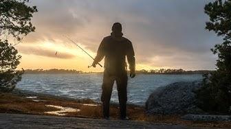 Meritaimenen kalastus, Helsinki | Todellista tyrskykalastusta!