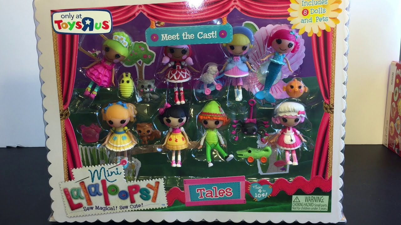 Lalaloopsy Mini Dolls Fairy Tales Collection Toy Opening U0026 Review