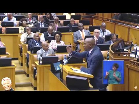 DA Mmusi Maimane Hitting Back At Jacob Zuma   SONA 2017