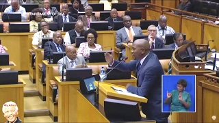 DA Mmusi Maimane Hitting Back At Jacob Zuma | SONA 2017
