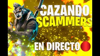 HUNTING SCAMMERS LIVE!! FORTNITE SAVE THE WORLD