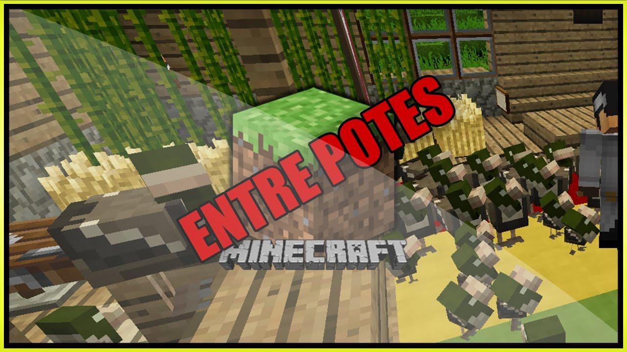 Entre potes 2 minecraft invasion de poule - Poule minecraft ...