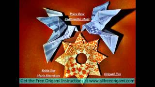 How To Do Origami Dove