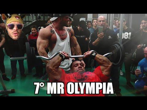 Allenamento con un MR OLYMPIA  💪🏻💪🏻