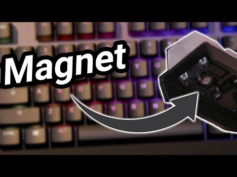Why does this keyboard have a MAGNET in every key? - Steelseries Apex Pro First Look