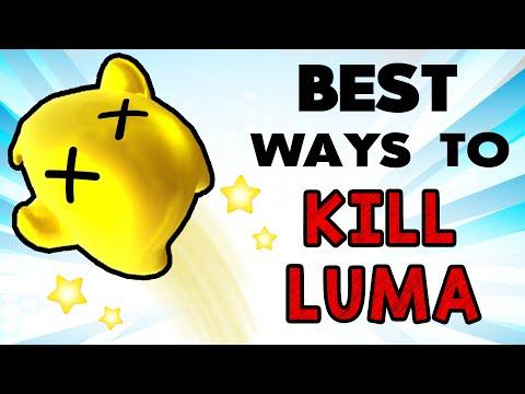 Best Ways to KILL Luma! (Smash Wii U/3DS)