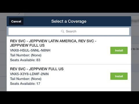 ForeFlight - Link an Existing Jeppesen Subscription