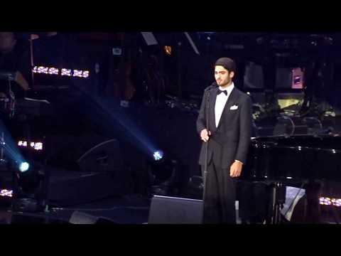 Matteo Bocelli   Debut at the David Foster Foundation Concert in Vancouver