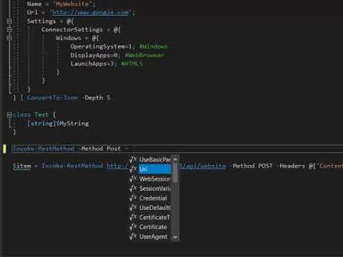 PowerShell Language Service Protocol Extension in Visual Studio