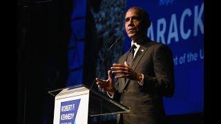 US PRESIDENT BARACK OBAMA HONORED AT 2018 RIPPLE OF HOPE AWARDS