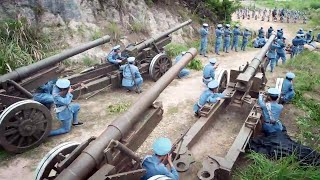 The Chinese army scares away the enemy with newly equipped super artillery!Fool soldier 28