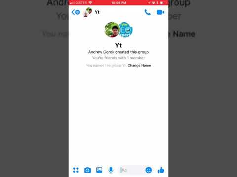 How To CHANGE A GROUP CHAT NAME On MESSENGER?