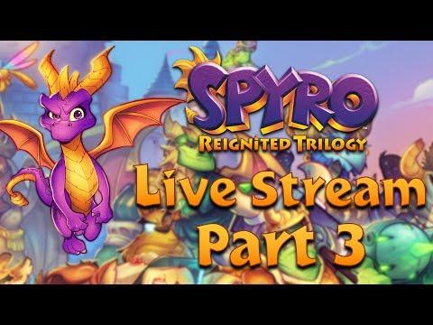 Spyro Reignited Trilogy LIVE STREAM Part 3 thumbnail